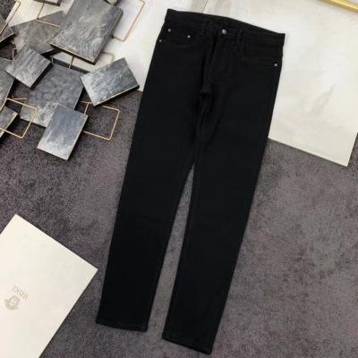 Versace 范思哲牛仔裤 2020新款男士小直筒美杜莎头像腰牌设计-2