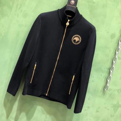STEFANO RICCI/史蒂芬外套2020年秋冬新款男装百搭时尚休闲羊毛针织上衣-22