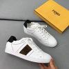 Fendi\芬迪男鞋夏季新款小白鞋休闲系带低帮运动鞋