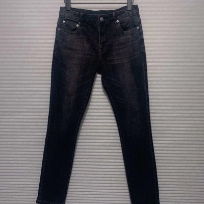 Prada/普拉达牛仔裤 男士长裤小脚裤修身直筒办公商务休闲裤14-jx7l