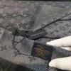 【LV闪金花纹】 质感精细风格成熟的长围巾是众多造型的理想搭配 47*190cmgdwj090406