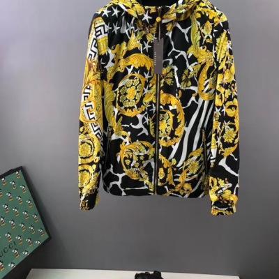 Versace/范思哲外套 2020最新秋款男款双面穿夹克衫-2