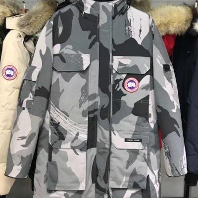 CANADA GOOSE / 加拿大鹅 羽绒服女款毛领长款羽绒-9