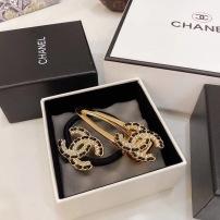 Chanel(香奈儿)最新爆款来啦 中古vintage复古水钻发圈发夹 好搭配 有品味yzp090305