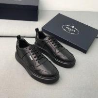 Prada\普拉达 2020新款秋季男士系带休闲鞋品牌徽标小白鞋板鞋