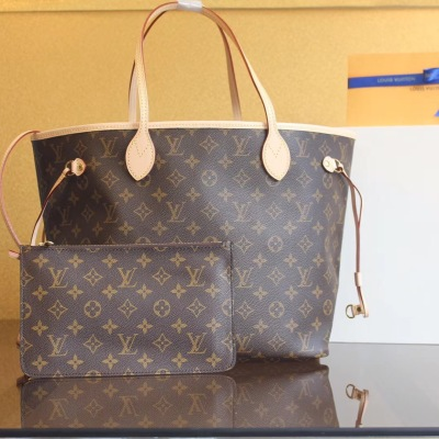 LV/路易威登 女士手拎包手提包NEVERFULL老花子母包购物袋 LV-MX