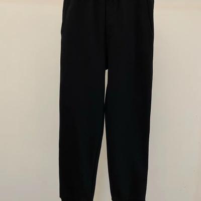 prada普拉达休闲裤2020口袋logo徽标运动裤长腿卫裤-8