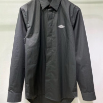 dior 迪奥衬衫2020世纪联名系列logo刺绣衬衫长袖衬衣-8