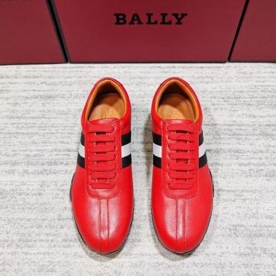 Bally\巴利男士纯皮织带休闲鞋 低帮系带气质男士跑鞋运动鞋