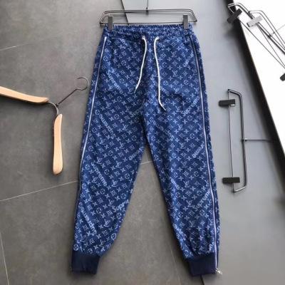 路易威登lv牛仔裤𝟐𝟎𝟐𝟎早秋女款休闲裤 经典裤角两侧拉设计5- ksnz
