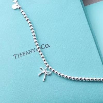 Tiffany蒂芙尼蝴蝶结手链 简洁又秀气 满满的少女心