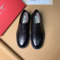 Ferragamo/ 菲拉格慕低帮商务男鞋 正装休闲系带皮鞋