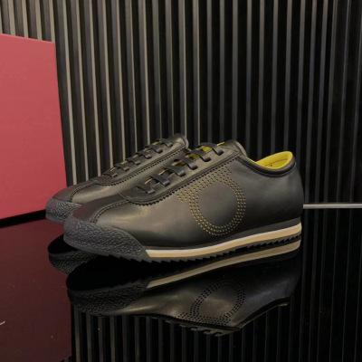 Ferragamo\菲拉格慕2020新款圆头牛皮休闲运动鞋