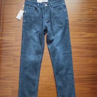 Ferragamo/菲拉格慕牛仔裤男士商务休闲长腿裤-2