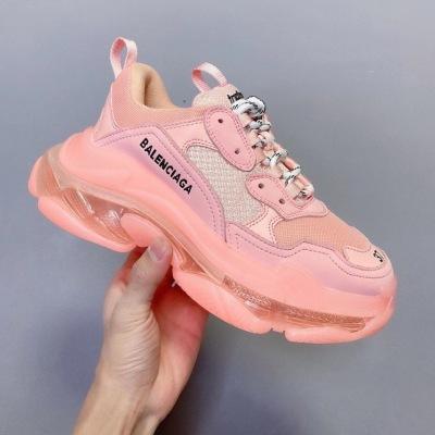BalenciagaTriple\巴黎世家透明气垫老爹鞋休闲运动鞋