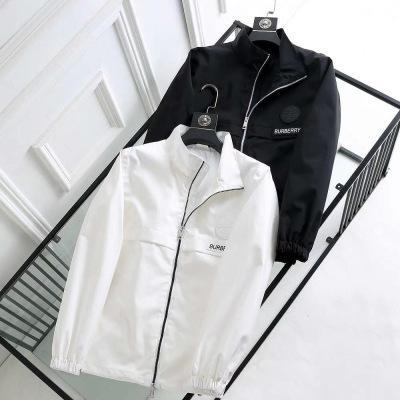 Burberry/巴宝莉外套男装秋季新款长袖夹克上衣-19