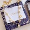 Dior迪奥 字母星星爱心项链  锁骨链