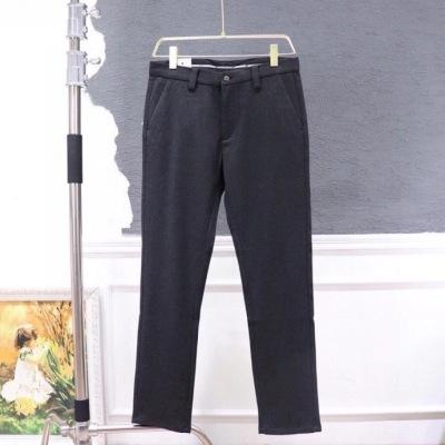 Loewe罗意威西裤  秋冬男士灰色休闲商务长裤-2