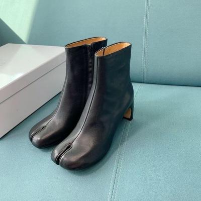 Margiela\秋冬新品网红同款分趾靴tibi忍者鞋 马蹄靴
