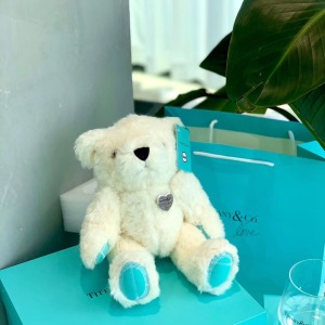 蒂芙尼2020小熊杯子套装礼盒限量版白色小熊搭配水晶杯 超大礼盒包装 送礼收藏首选mtjp090106