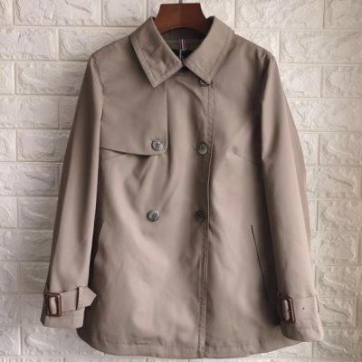 MARTINE WESTER 玛汀微斯 风衣 女士双排扣极简短款风衣外套-32