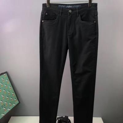 SR 史蒂芬休闲裤 秋季新品男款修身显瘦小直脚裤子-2
