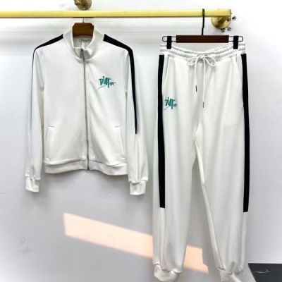 Dior迪奥运动套装  春秋女款刺绣休闲显瘦收口卫衣卫裤-13