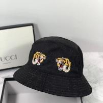 Gucci古驰渔夫帽 刺绣虎头 独特的设计风格.精致品质刺绣 时尚百搭 个性十足yzp082108