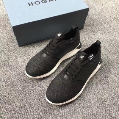 Hogan/霍根新款男士休闲运动鞋网面透气跑步鞋
