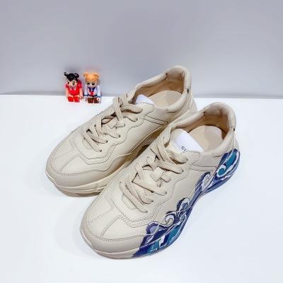 Gucci/古驰经典做旧海浪男女运动休闲鞋 老爹鞋