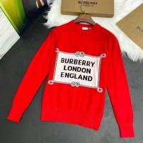 Burberry巴宝莉针织衫  秋冬女士长袖圆领套头羊毛毛衣-13