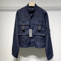 Dior迪奥外套 秋款蓝色男士宽松派克工装夹克-16