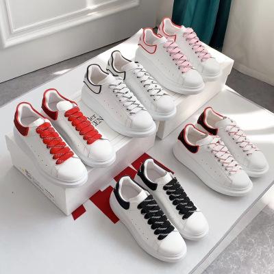 Mcq\麦昆新款滴胶系列小白鞋 一年四季百搭单品 系带休闲鞋