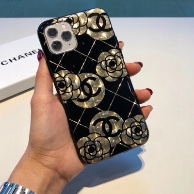 Chanel香奈儿水立方手机壳 立体山茶花 硅胶软壳ydmz082211