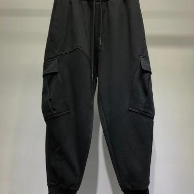 Dior迪奥休闲裤 秋冬男士抽绳收腰大口袋长腿卫裤-30