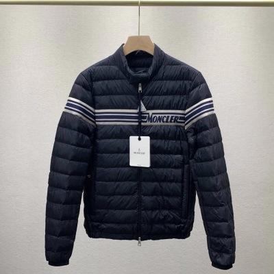 Moncler蒙口羽绒服  冬季男士立领鹅绒保暖轻薄羽绒外套-16