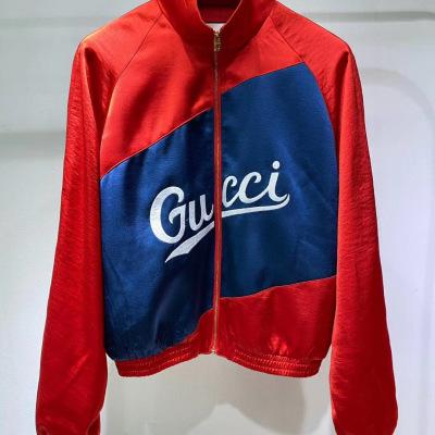 Gucci古驰外套  秋冬情侣款飞行员夹克拉链上衣-8