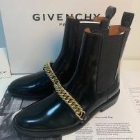 Givenchy\纪梵希秋冬二代链条靴 女士休闲马丁靴 出街必备 随意百搭