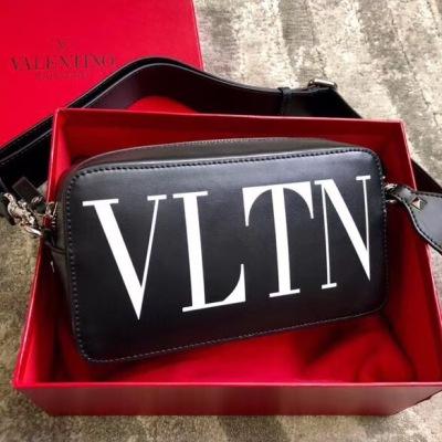 Valentino/华伦天奴男士新款肩挎包 可调节肩带休闲方包单肩包HLTN-YY