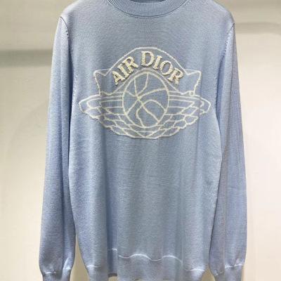 dior 迪奥针织衫 2020世纪联名系列logo长袖男女同款羊毛衫-8