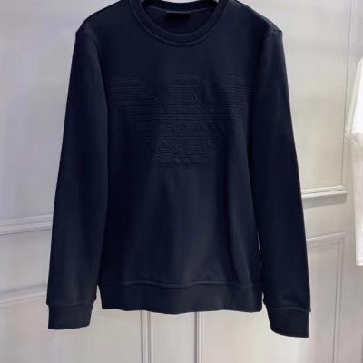 阿玛尼卫衣 2020秋冬最新秋款长袖上衣t恤-2