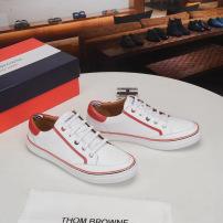 ThomBrowne/汤姆布朗经典男士拼色系带运动休闲板鞋