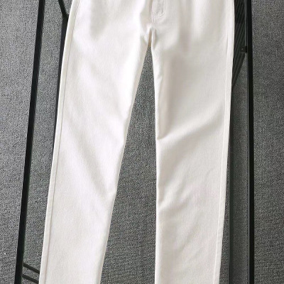Balenciaga巴黎世家牛仔裤 秋冬男士纯色长腿裤子-19